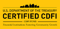 US Department of Treasury CDFI certificate