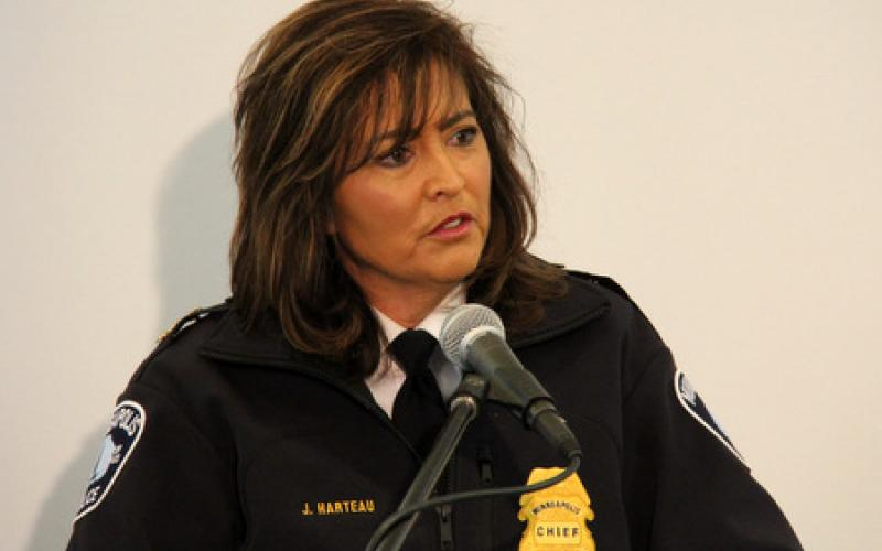 Police Chief of Minneapolis, Jeneé Harteau