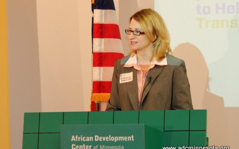 Andriana Abariotes, Executive Director of theTwin Cities Local Initiatives Support Corporation