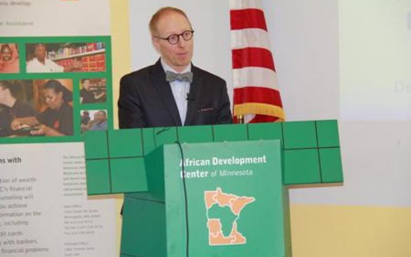 Jeremy Hanson Willis, Deputy Commissioner speaks at the ADC conversation in 2015