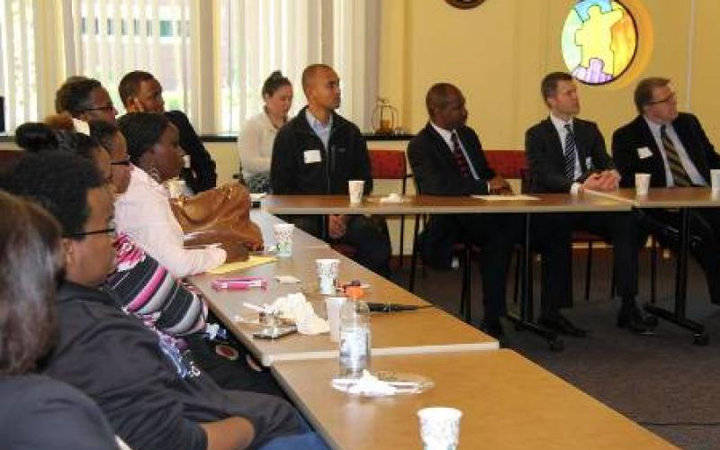 participants at the ADC Commerce and Community Conversation