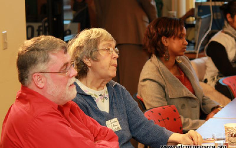 participants at the ADC Commerce and Community Conversation, Feb 2012