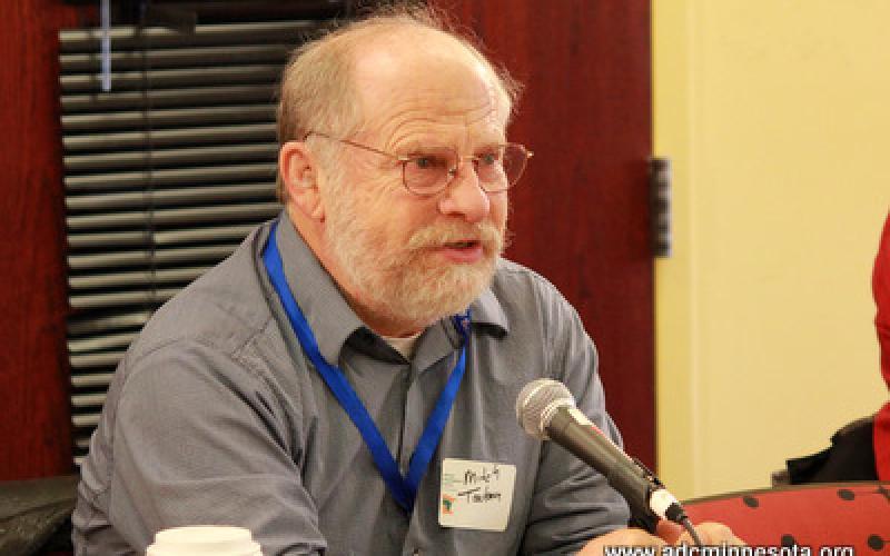 a participant speaks