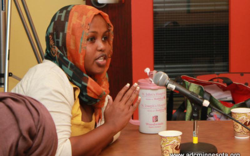 Participant asks a question