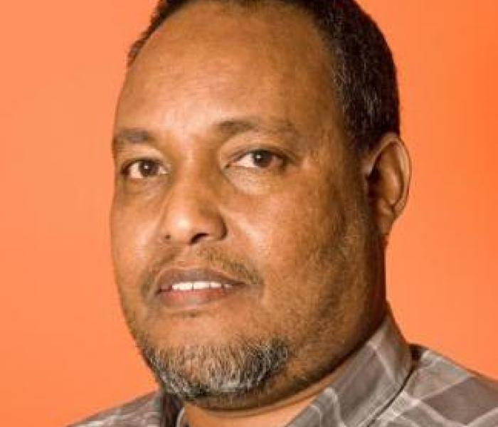 Headshot of Abdikafar Aden